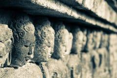 Głowy w kamieniu Zdjęcia Royalty Free