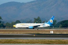 G-OXLC Boeing 737-800 of NokAir Stock Photography