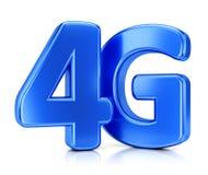 4G pictogram Stock Afbeeldingen