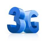 3G pictogram Stock Afbeelding
