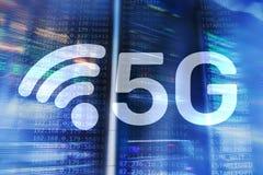 5G r?seau, concept de connexion internet 5G ? l'arri?re-plan num?rique Concept fut? du r?seau de transmission illustration libre de droits