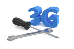 3G repairs and service concept 2 Royalty Free Stock Photography
