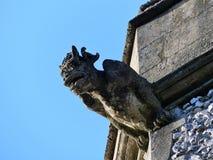G?rgola en la torre de la iglesia parroquial de la trinidad santa, Penn Street imagen de archivo
