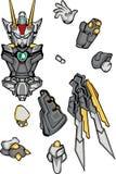 G-robo Körperteil Stockfotos