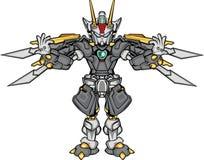 G-robo Körperteil Stockbild