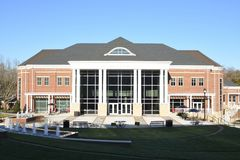 G Ross Anderson Jr Student Center. Located at Anderson University in Anderson, SC stock photo
