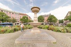 Gärtnerplatz munich fountain Royalty Free Stock Images