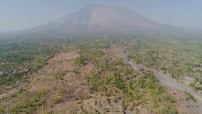 G?ry Agung krajobrazowy wulkan, Bali, Indonezja zbiory