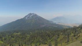 G?ry Jawy krajobrazowa wyspa, Indonezja zdjęcie wideo