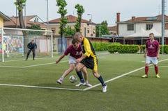 g S 圣玛丽亚di Oleno对 Murazzi达尔米内06-05-2018 图库摄影