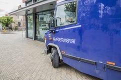 G4S Money Transport范At Diemen荷兰 免版税库存图片