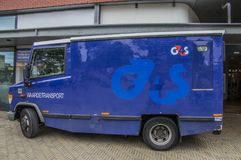 G4S Money Transport范At Diemen荷兰 库存图片