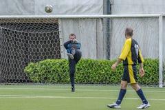 g S Santa Maria di Oleno против Murazzi Dalmine 06-05-2018 Стоковые Фотографии RF