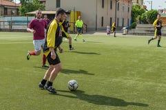 g S Santa Maria di Oleno против Murazzi Dalmine 06-05-2018 Стоковое Изображение