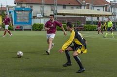 g S Santa Maria di Oleno против Murazzi Dalmine 06-05-2018 Стоковая Фотография RF