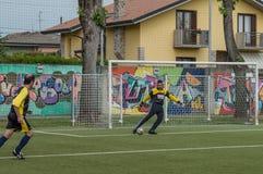 g S Santa Maria di Oleno против Murazzi Dalmine 06-05-2018 Стоковое Изображение RF