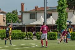 G S Santa Maria di Oleno vs Murazzi Dalmine 06-05-2018 Royaltyfri Foto