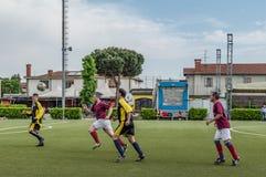 G S Santa Maria di Oleno vs Murazzi Dalmine 06-05-2018 Arkivfoto