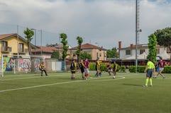 G S Santa Maria di Oleno vs Murazzi Dalmine 06-05-2018 Fotografering för Bildbyråer