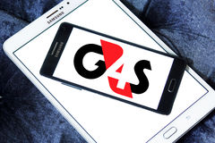 G4s security company logo Stock Image
