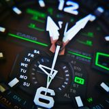 G-Shock GW-A1100 Royalty Free Stock Images