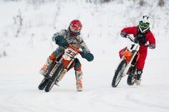 G. Shtanko (32) and Y. Titov (1) Stock Photos