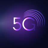 5G sign vector icon. Mobile telecommunications technology symbol. 5G sign icon. Mobile telecommunications technology symbol. Vector stock illustration