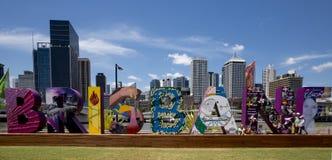 G20 signage, Brisbane, Australia Royalty Free Stock Photography