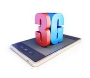 3g smartphone ang text 3g Stock Photo