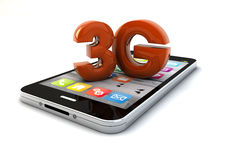 3g smartphone Royalty Free Stock Photo