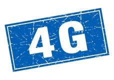 4g stamp. 4g square grunge stamp. 4g sign. 4g vector illustration