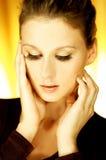 G-ståendekvinna Royaltyfri Foto