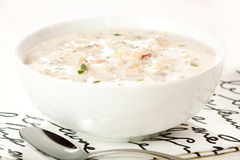 gęsta zupa rybna milczek England nowy Zdjęcie Stock