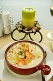 gęsta zupa rybna owoce morza Zdjęcia Royalty Free