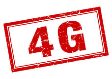 4g stamp Royalty Free Stock Image