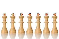 The G7 States symbolically as pawns Stock Photo