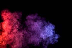 Gęsty kolorowy dym Obrazy Stock