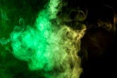 Gęsty kolorowy dym Zdjęcie Stock