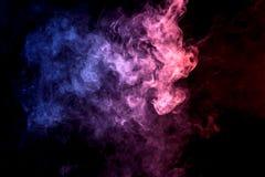 Gęsty kolorowy dym Fotografia Stock
