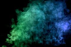 Gęsty kolorowy dym Obraz Royalty Free