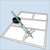G-stylo Images libres de droits