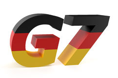 G7 Summit in Germany concept Stock Photography