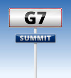 G7 Summit Royalty Free Stock Photos