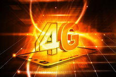 4g tablet pc Stock Image