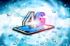 4g tablet pc Royalty Free Stock Photo