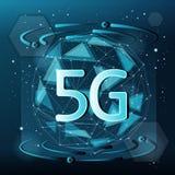 5G technologieconcept royalty-vrije illustratie