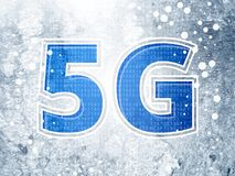 5G Technology Abstract as JPG File. 5G Technology Concept Abstract as JPG File Stock Photos