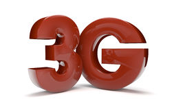 3g text Stock Photography