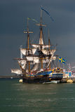 Götheborg ship Royalty Free Stock Photos