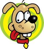 głupi pies Zdjęcia Stock